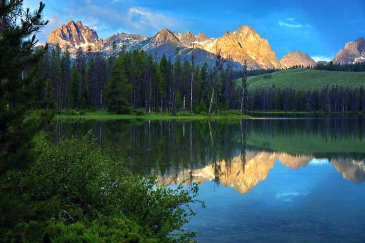 Водопад Идахо достопримечательности